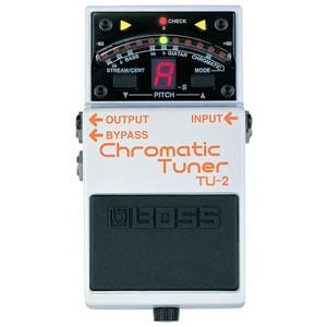 BOSS TU-2 Chromatic Tuner